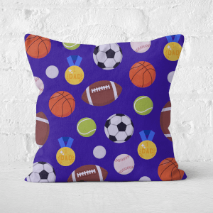 Sports Dad Square Cushion