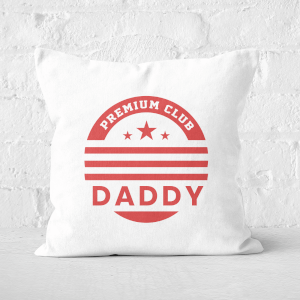 Premium Club Daddy Square Cushion