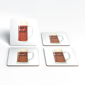 Dad's Stout Coaster Set