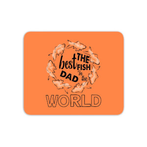 Best Fish Dad Mouse Mat