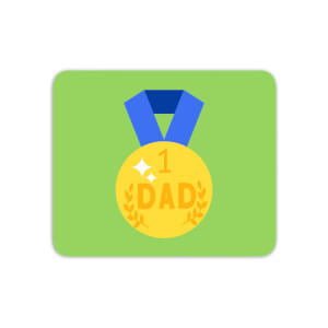 Dad Medal Mouse Mat