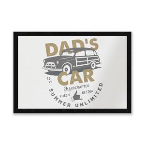 Dad's Car Entrance Mat