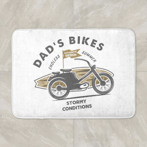Dad's Bikes Bath Mat