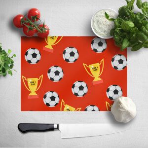 Football Dad Chopping Board
