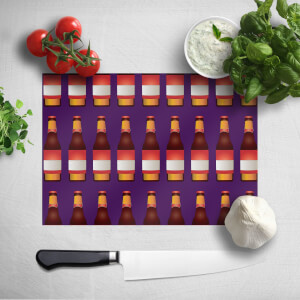 Beer Bottle Chopping Board