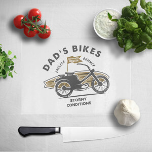 Dad's Bikes Chopping Board