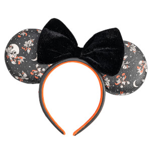 Loungefly Disney Mickey Minnie Halloween Vamp Witch Aop Headband