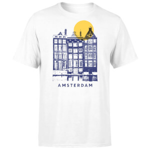 Amsterdam Men's T-Shirt - White