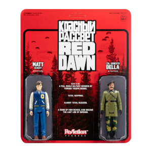 Super7 Red Dawn ReAction 2-Pack - Matt and Bella Action Figure