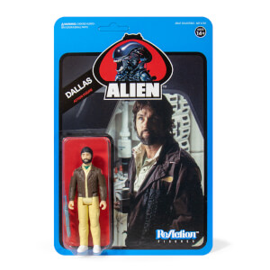 Super7 Alien ReAction Figure - Dallas (Blue Card) Action Figure