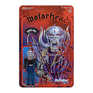 Super7 Motorhead ReAction - Pig Blood Action Figure