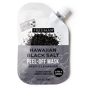 Freeman Beauty Hawaiian Black Salt Peel-Off Mask