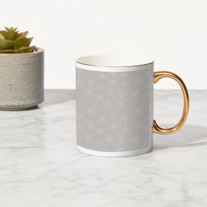 Connection Bone China Gold Handle Mug