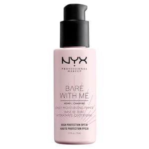 NYX Professional Makeup Bare With Me Cannabis Sativa Seed Oil SPF30 Daily Moisturising Primer