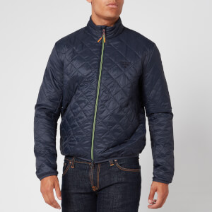 Barbour Beacon Men's Karl Box Quilted Jacket - Navy