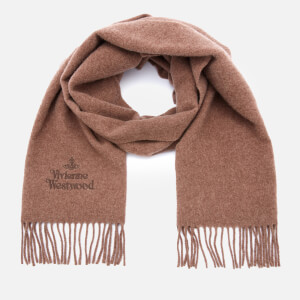 Vivienne Westwood Women's Embroidered Wool Scarf - Juta