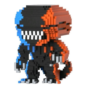 Alien Xenomorph Orange/Blue 8-Bit EXC Funko Pop! Vinyl