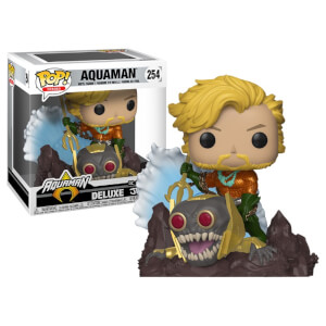 DC Comics Aquaman (Jim Lee) EXC Funko Pop! Deluxe