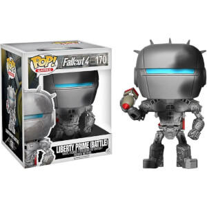 Fallout Liberty Prime Battle Damaged 6-Inch EXC Pop! Vinyl Figure