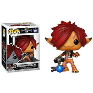 Disney Kingdom Hearts 3 Sora Orange (Monsters Inc.) EXC Pop! Vinyl Figure