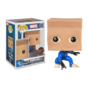 Marvel Spider-Man Bombastic Bag-Man EXC Pop! Vinyl Figure
