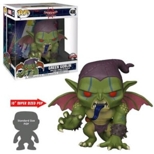 Marvel Spider-Man: Into The Spiderverse Green Goblin 10-Inch EXC Pop! Vinyl Figure