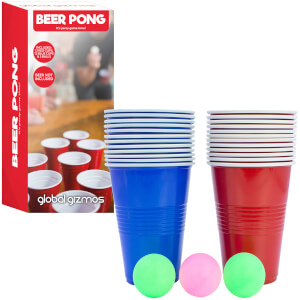 Global Gizmos Beer Pong Set