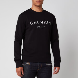 Balmain Men's 3D Effect Sweatshirt - Black