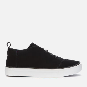 TOMS Women's Riley Suede Lace Up Trainers - Black
