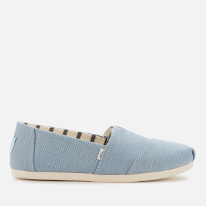 TOMS Women's Alpargata Slip-On Pumps - Blue