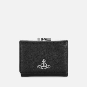 Vivienne Westwood Women's Johanna Small Frame Wallet - Black