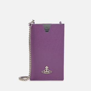 Vivienne Westwood Women's Debbie Phone Chain Bag - Purple