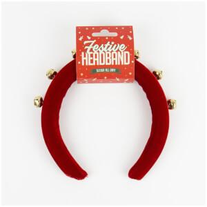 Festive Christmas Baubles Headband