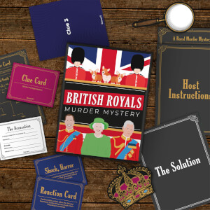 Royal Murder Mystery Game