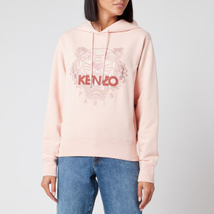 KENZO Women's Icon Classic Tiger Hoodie - Faded Pink
