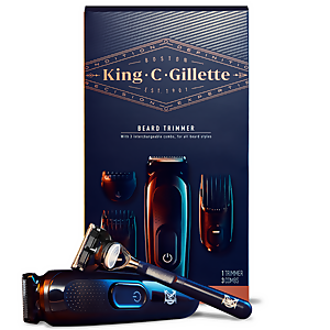 King C. Gillette Beard Trimmer & Razor