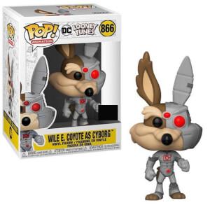Looney Tunes Road Runner Coyote as Cyborg EXC Pop Vinyl