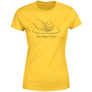 Nice Finger Action Women's T-Shirt - Yellow