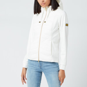 Barbour International Women's Spitfire Sweat Jacket - White