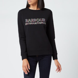 Barbour International Women's Interceptor Sweatshirt - Black