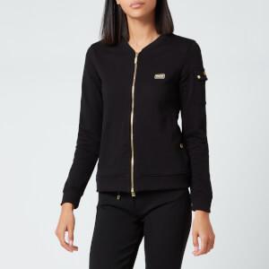 Barbour International Women's Magna Zip Through Sweatshirt - Black