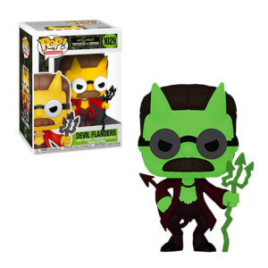 Simpsons Devil Flanders EXC Pop! Vinyl