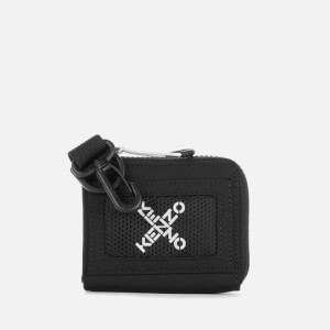 KENZO Men's Sport X Zip Wallet - Black