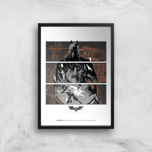 Batman Begins Poster Giclee Art Print