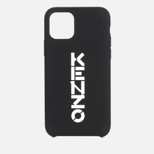 KENZO iPhone 11 Pro Vertical Logo Phone Case - Black