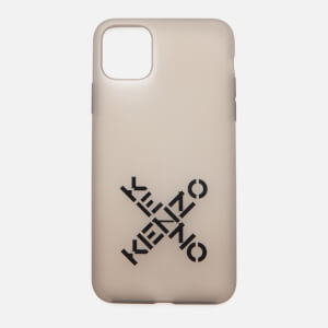 KENZO iPhone 11 Pro Max Sport Silicone Phone Case - Black