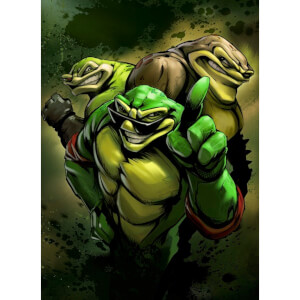 Battletoads Limited Edition Art Print