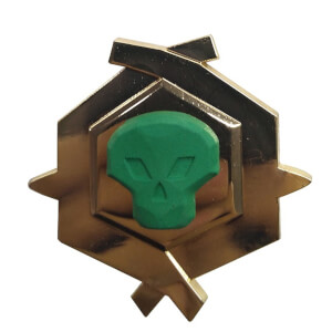 Sea of Thieves Limited Edition Glow in the Dark Pin Badge