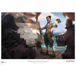 Sea of Thieves Limited Edition Art Print - Merchant Alliance