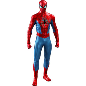 Hot Toys Marvel's Spider-Man Video Game Masterpiece Action Figure 1/6 Spider-Man (Spider Armor MK IV Suit) 30cm